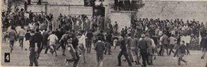Uobičajena scena sa starog Hajdukovog igrališta