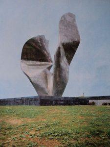 Изглед споменика средином 1970-их