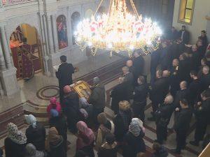 LiturgijA u Spomen-hramu Svetog velikomučenika Georgija (Foto: RTRS)