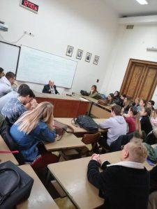 Teodor Kovač, predavanje