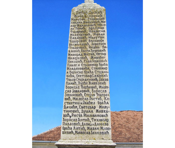 Spomenik palim ratnicima iz Bagrdana i okoline