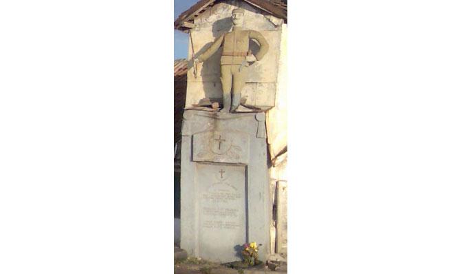 Spomenik posvećen Živojinu Gligorijeviću u Jagodini