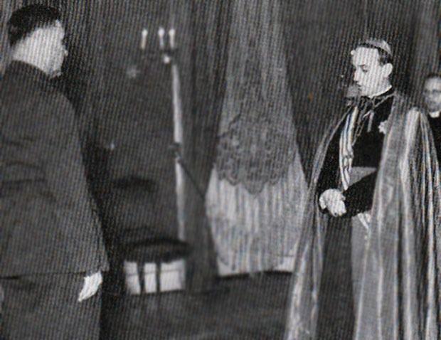 Alojzije Stepinac sa Antom Pavelićem