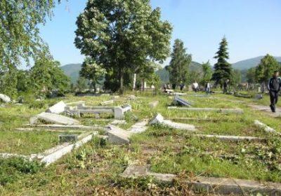 Evo kako izgleda srpsko groblje u južnom delu Mitrovice