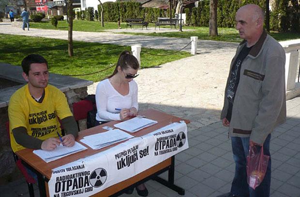 Zahtev građana Foto S. Mišljenović