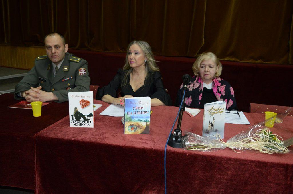 Major Slaviša Fišić, autor Olivera Budimir i publicista Zorica Peleš
