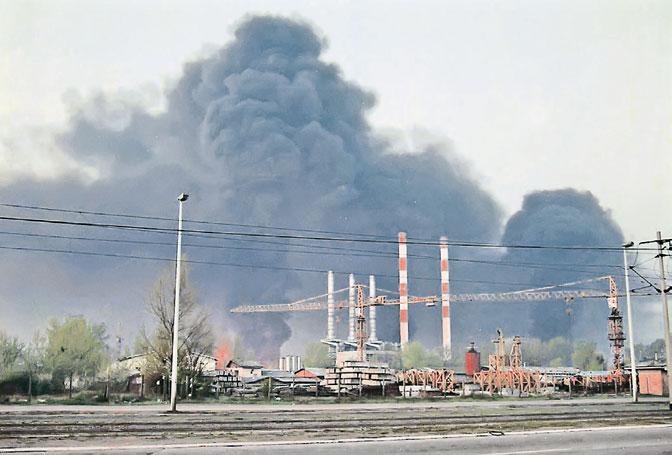Toplana na Novom Beogradu (Foto EPA/Dmitri Khrupov)
