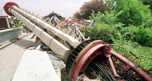 Raščišćavanje ruševina počelo je u leto 2005. godine / Foto Tanjug