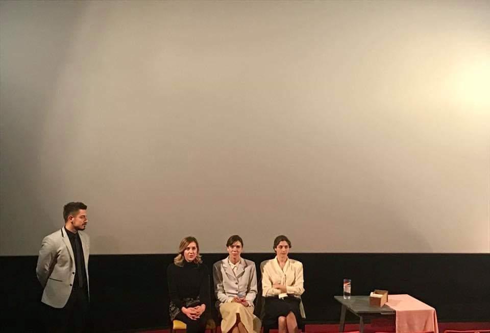 Filip Vlajić, Nataša Novaković, Ana Vasić i Jelena Puzić tokom diskusije