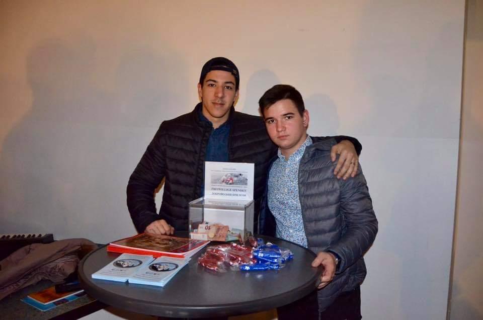 Stefan Andrić, Upravnik za finansije SPOJI-a, i Aleksandar Ilić, koji se skoro priključio organizaciji