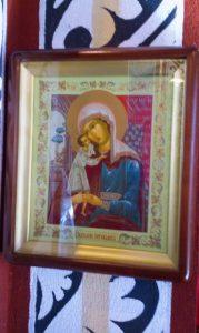 Ruska ikona Presvete Bogorodice Zastupnice Stradalih