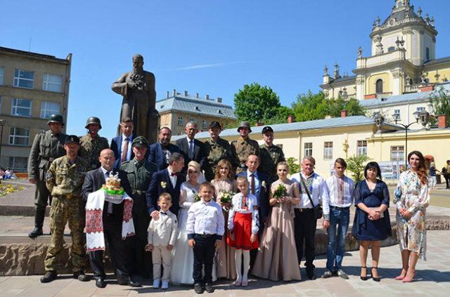 Свадба у Лавову, фото: Факти.орг