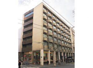 Imovina Jugobanke je dva puta konfiskovana: nekadašnja zgrada u Beogradu (Foto N. Marjanović)