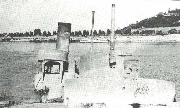 """Krajem 1942. godine Nezavisna država Hrvatska je izvadila potopljene monitore i monitor """"Moravu"""" pod imenom """"Bosna"""" uvrstila u sastav svoje rečne flotile"""