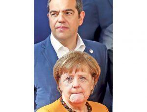 Angela Merkel i Aleksis Cipras (Foto: EPA-EFE/Julien Warnand)