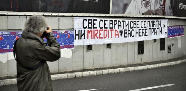 Natpis na ulazu u Terazijski tunel / Foto K. Mihajlović
