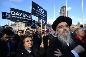 Jevreji na skupu u Londonu traže zaštitu svoje nacije / Foto EPA