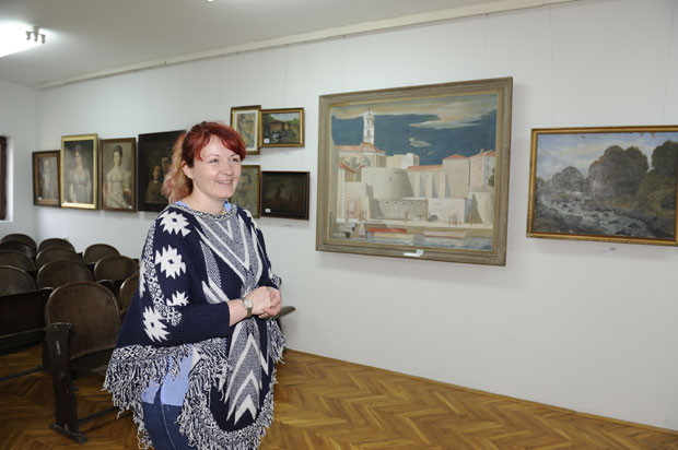 Jelena Trajković, direktorka Muzeja kraj vrednih slika