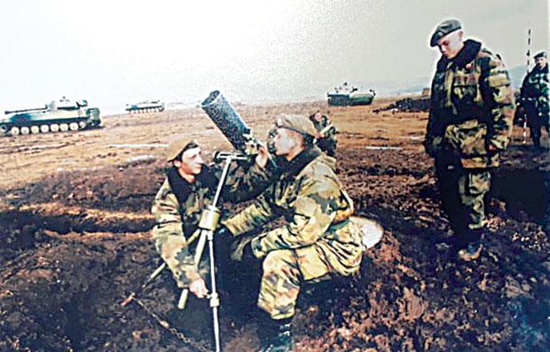 """Фотографија Робертове јединице објављена у """"Новостима"""" два месеца уочи бомбардовања"""