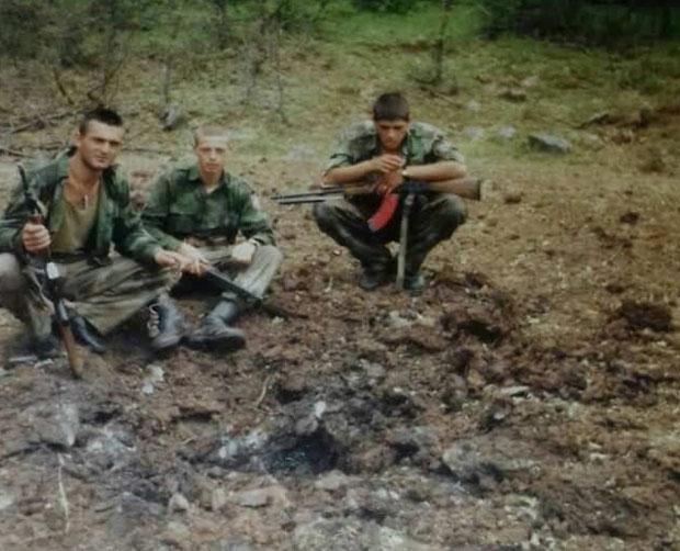 Vojnici VJ na granici sa Albanijom