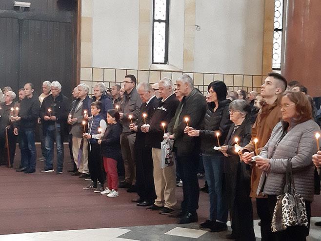 Beograd: Parastos žrtvama BljeskaFoto: SRNA