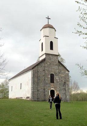 Crkva gde je kršten Tesla