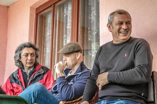 Ivanović, Kampf i Dželetović Foto S. Savković