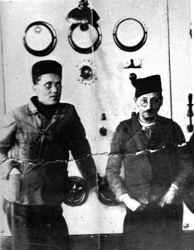 Tito i Moša Pijade u zatvoru