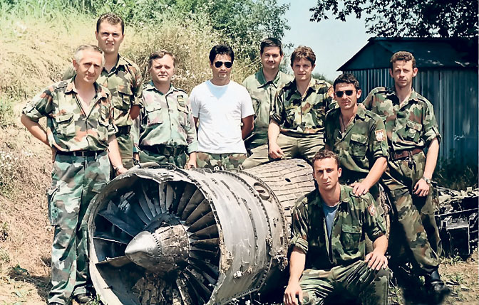 Deo posluge koja je oborila američki F-16 (Foto S. Golubović)