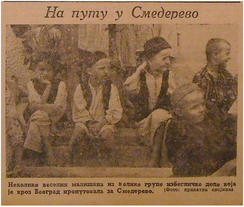 """""""Na putu u Smederevo"""", """"Novo vreme"""", 1. juli 1942. str. 3"""