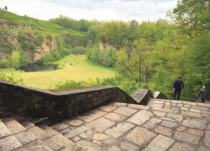 Stepenice smrti u Mauthauzenu, danas (Foto: M. Brakočević)