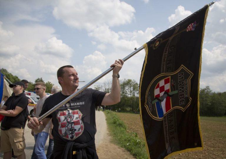 Hrvati slave ustaše, Ilustracija Foto: AP foto/Darko Bandić