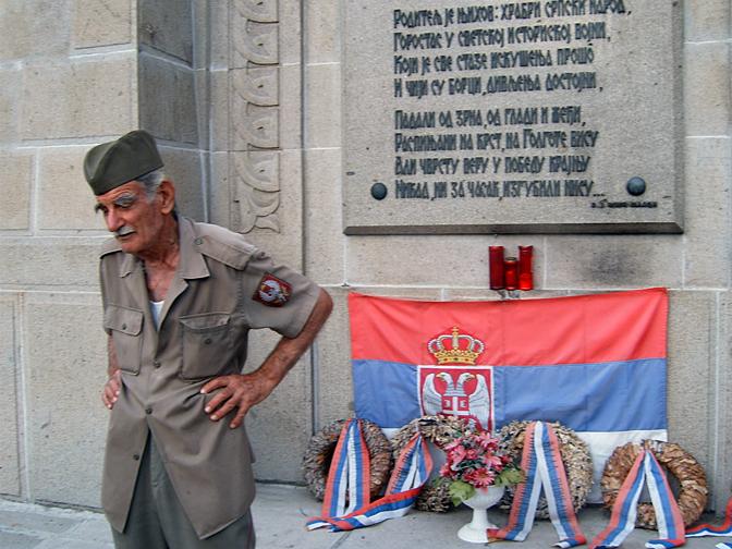 Srpsko vojničko groblje Zejtinlik u Solunu (Foto N. Trklja)