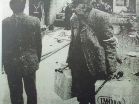 Izvor za fotografiju: Grupa autora, Zločin čeka kaznu, Novi Sad, 1995.