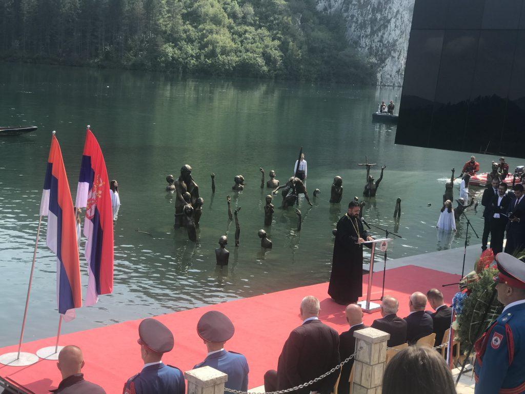Besjeda protojereja stavrofora Dragana Vukotića u Starom Brodu na Drini 07. septembra 2019.