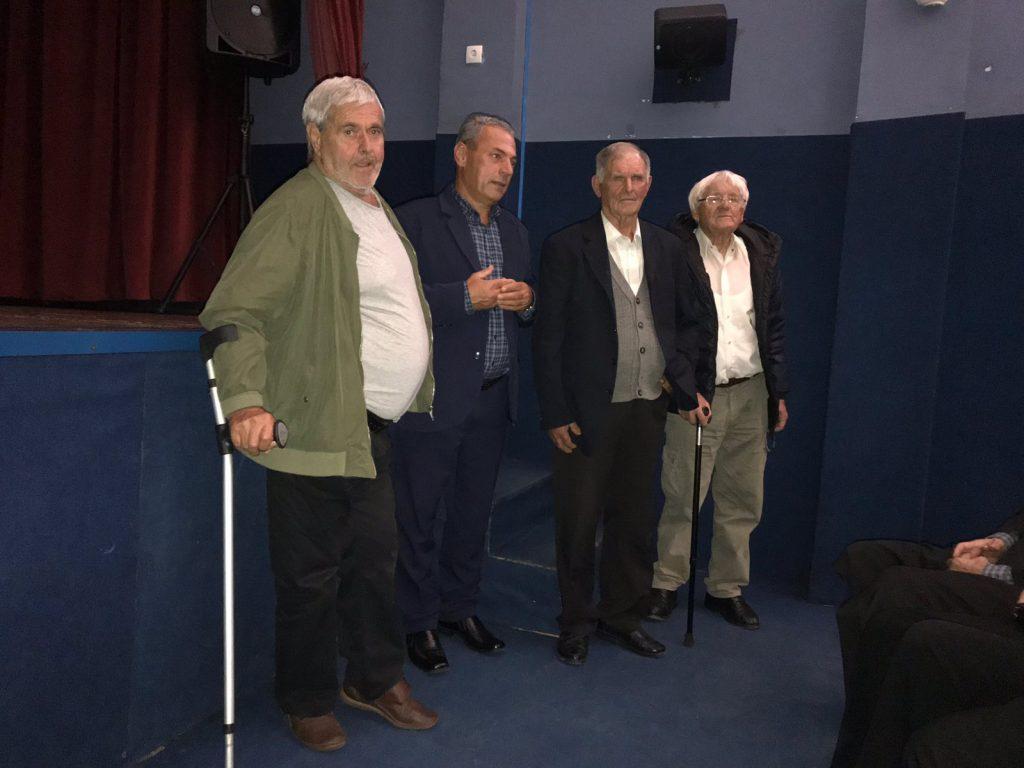 Svjedoci zločina na premijeri filma Vlajićki mučenici sa autorom Aleksom Kasapovićem.