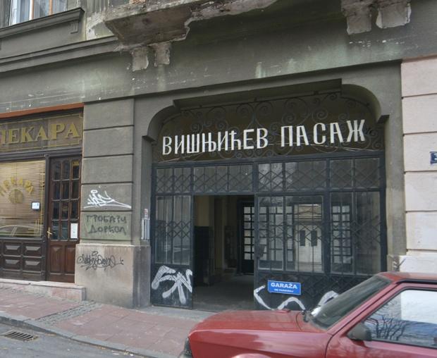 Zgrada u Višnjićevoj ulici u Beogradu Foto V. Danilov